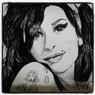 Amy Winehouse by stefyfriz